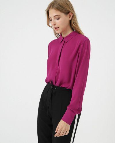 Блузка с длинным рукавом розовая салатовый Lime