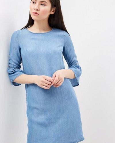 Джинсовое платье весеннее Sela