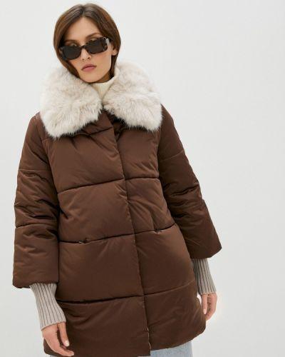 Теплая коричневая зимняя куртка Conso Wear