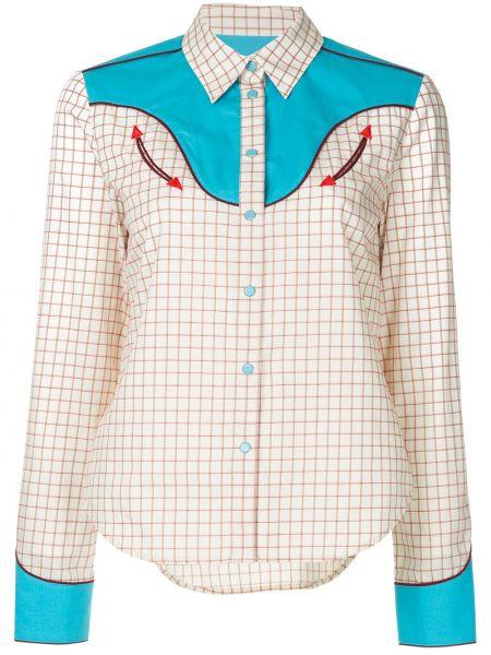 Длинная рубашка - белая Ck Calvin Klein