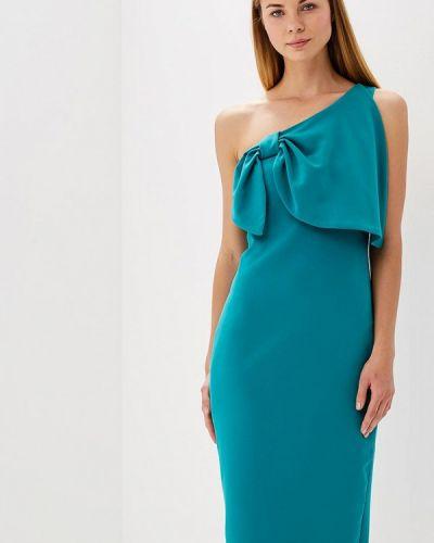 Платье весеннее зеленый Bruebeck