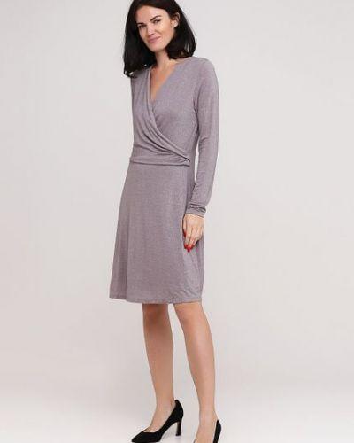 Серое платье S.oliver