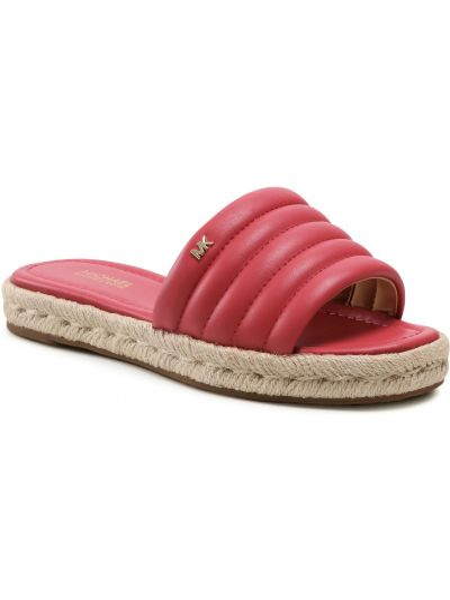 Sandały espadryle - różowe Michael Michael Kors