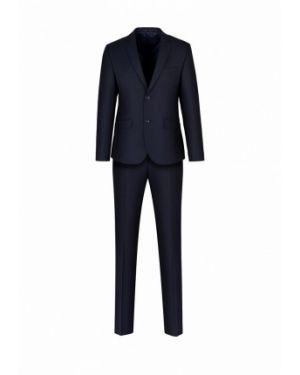 Пиджак синий костюмный Stenser