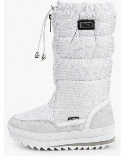 Нейлоновые белые сапоги King Boots