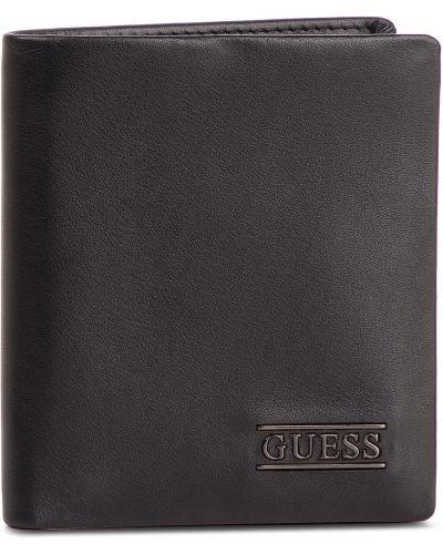 Portfel skórzany duży Guess