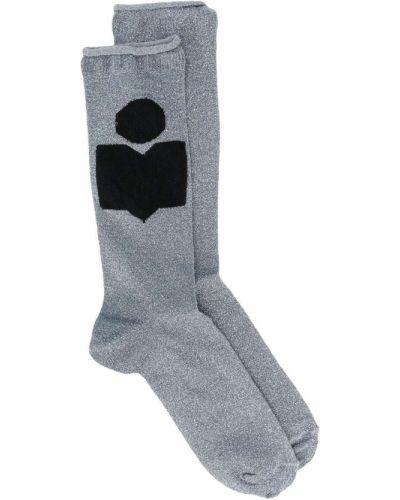Синие носки в рубчик Isabel Marant