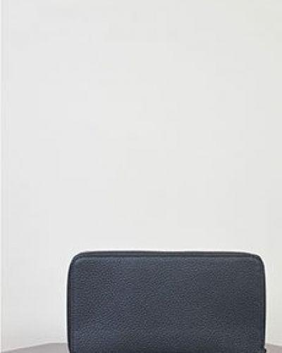 Черный кожаный кошелек Zilli
