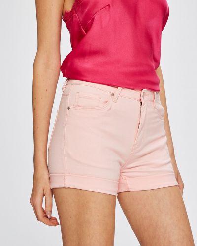 Розовые джинсовые шорты Answear