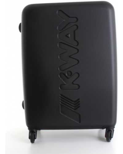 Czarna walizka K-way
