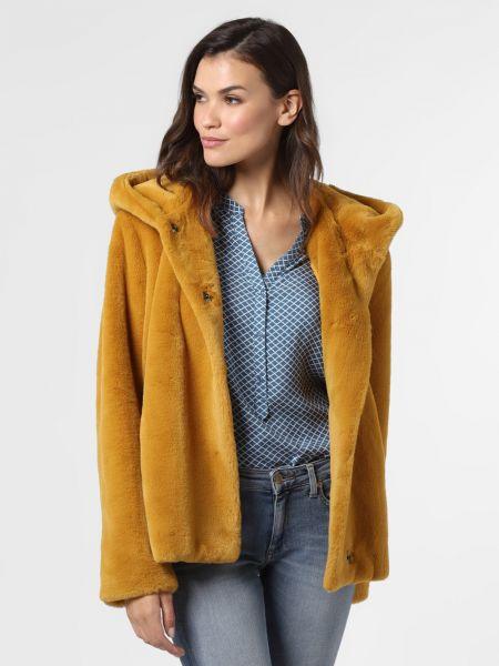 Żółta kurtka z bursztynem Amber & June