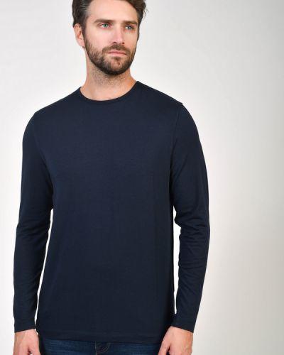 Хлопковая синяя футболка Daniel Hechter