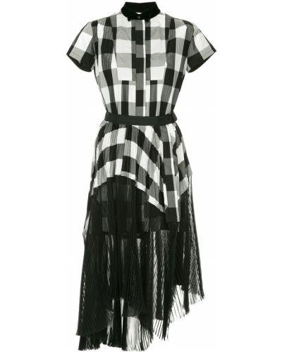 Платье мини миди на пуговицах Sacai