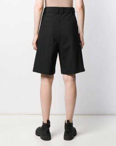 Черные шорты с карманами Plan C