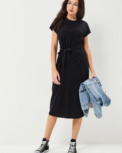 Черное платье весеннее Cheap Monday