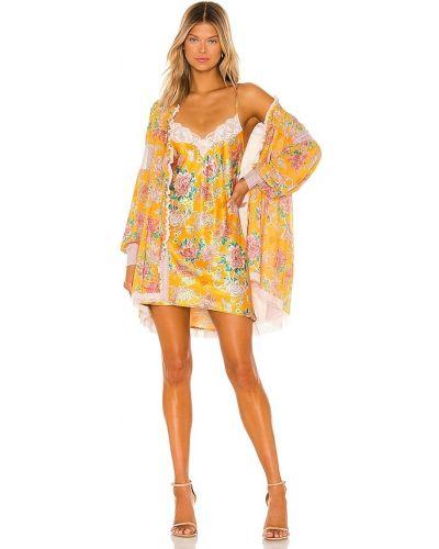 Satynowa sukienka Hah