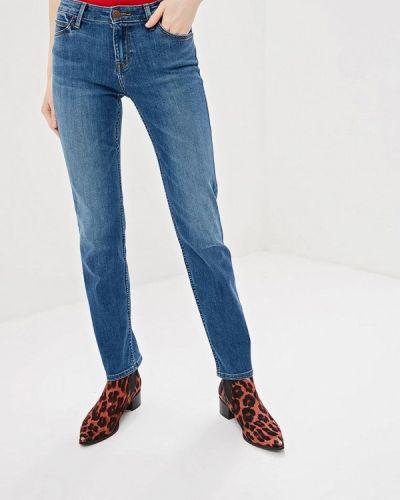 Голубые прямые джинсы Lee