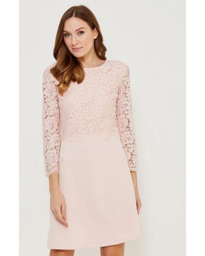 Платье осеннее розовое Incity