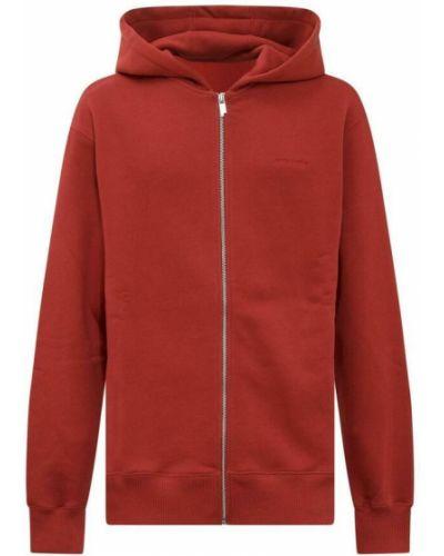 Czerwona bluza dresowa A-cold-wall*