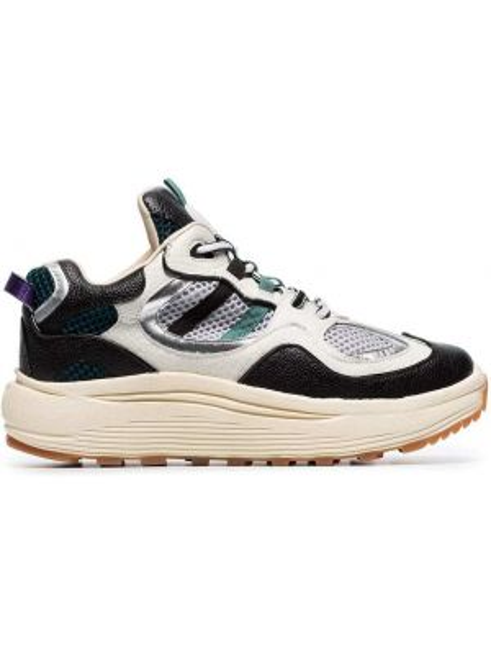 Skórzane sneakersy białe Eytys