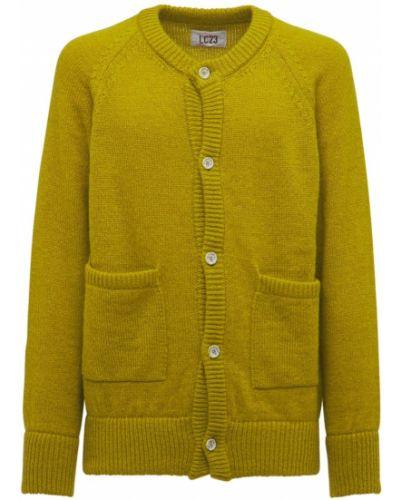 Zielony sweter moherowy Lc23