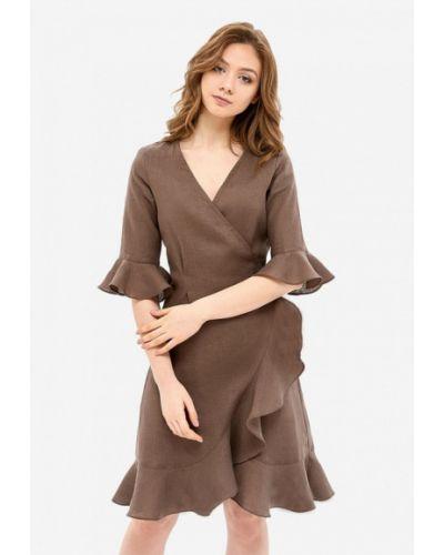 Коричневый халат Morandi