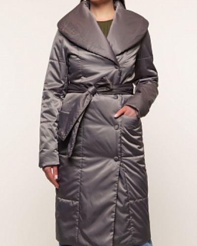 Зеленое демисезонное пальто каляев