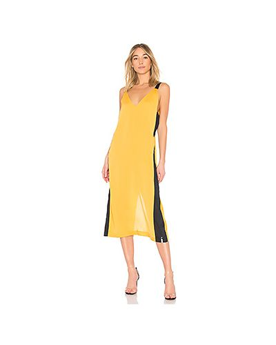 Платье с карманами с разрезом One Teaspoon