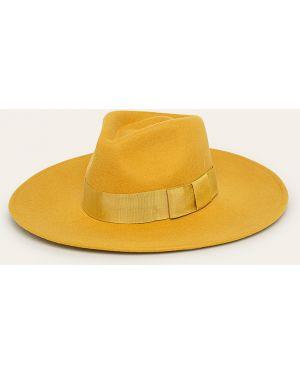 Żółty czapka beanie wełniany Brixton