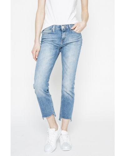 Прямые джинсы слим фит с эффектом потертости Lee