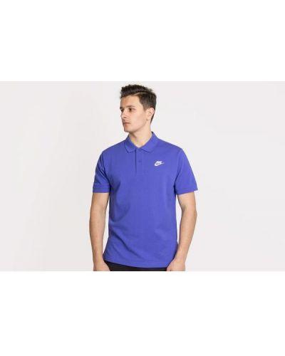 T-shirt bawełniana - fioletowa Nike