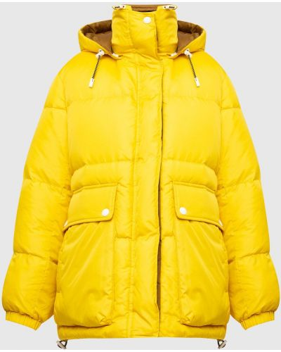 Пуховая куртка - желтая Yves Salomon Army