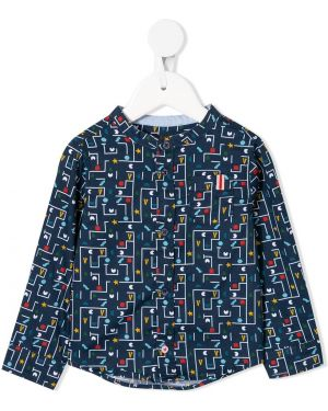 Czarna klasyczna koszula krótki rękaw bawełniana Velveteen