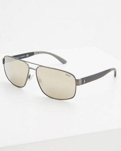 Черные солнцезащитные очки Polo Ralph Lauren