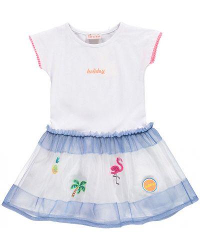 Платье однотонное хлопковое Brums