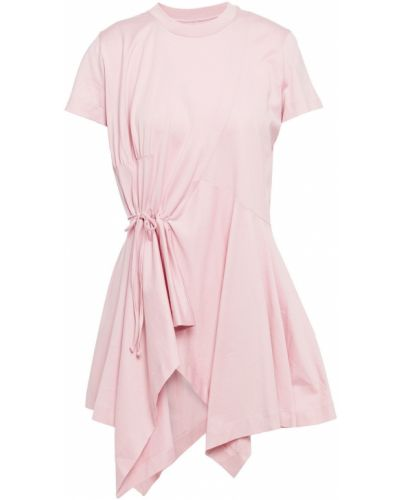 Koszulka bawełniana - różowa Marques Almeida