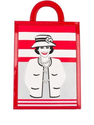 Кожаная сумка круглая сумка-тоут Chanel Pre-owned