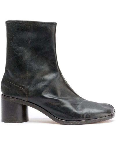 Ботильоны кожаный для обуви Maison Margiela