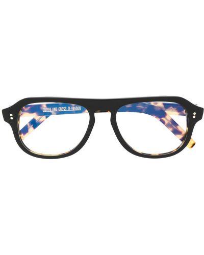 Прямые желтые очки для зрения Cutler & Gross