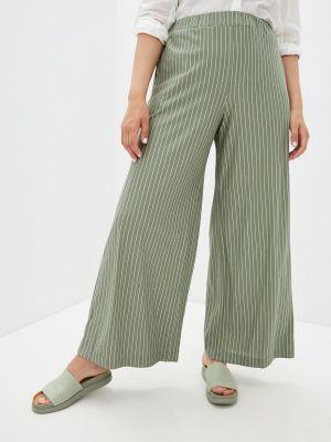 Прямые зеленые брюки Mankato