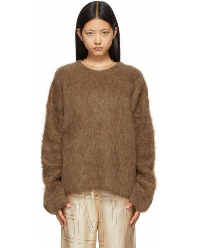 Свитер из альпаки - коричневый Toteme