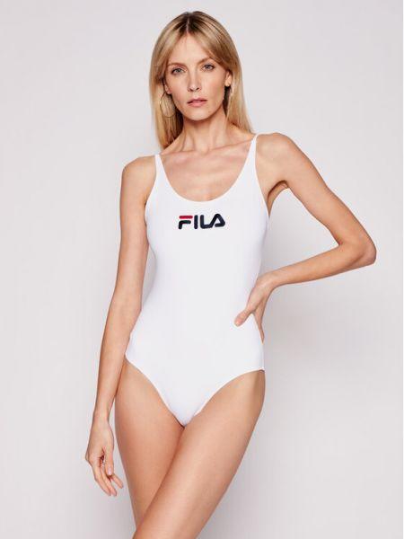 Biały strój kąpielowy Fila