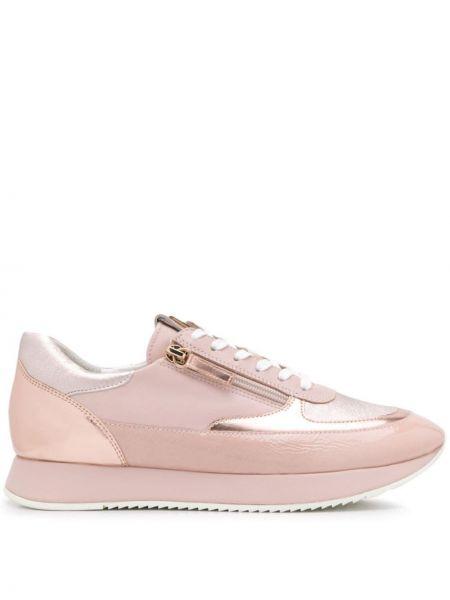 Кроссовки на молнии розовый Hogl