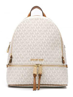 Złoty plecak - biały Michael Michael Kors