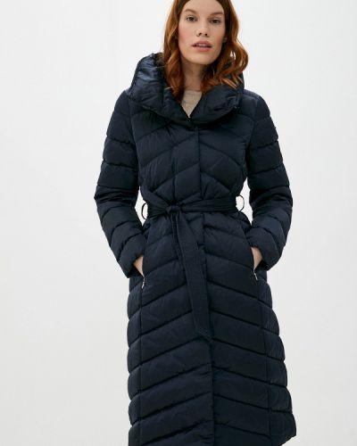 Теплая черная куртка Geox