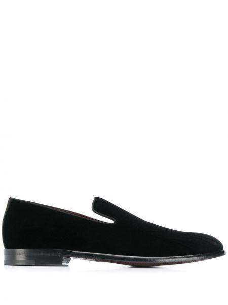 Лоферы черные кожаные Dolce & Gabbana