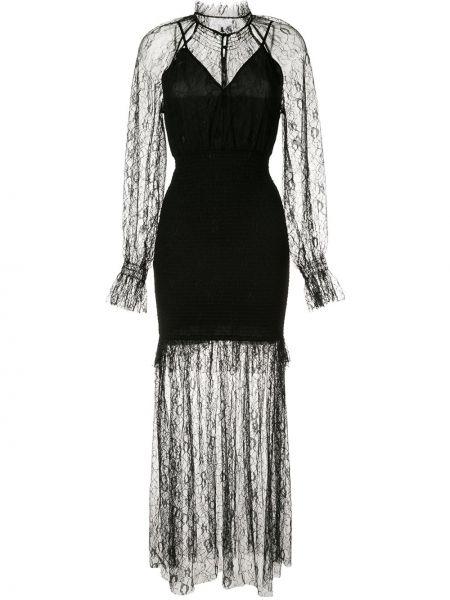 Платье на пуговицах черное Alice Mccall