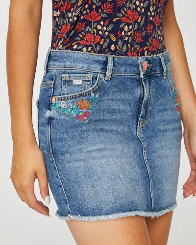 Юбка мини джинсовая на пуговицах U.s. Polo