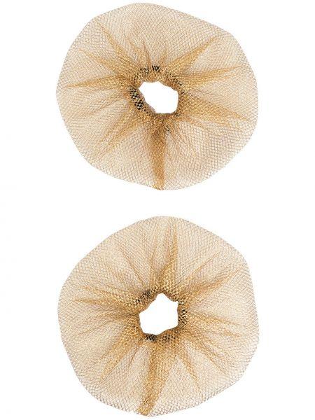 Золотистая желтая резинка для волос Atu Body Couture