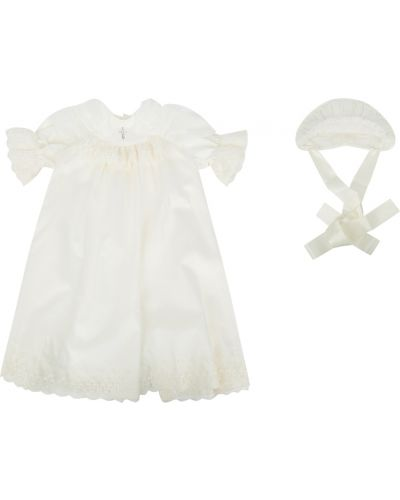 Платье с рукавами на торжество хлопковое ангел мой